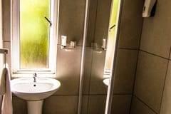 Room Bathroom at Blue Ocean Dive Resort, Sardine Run Accommodation