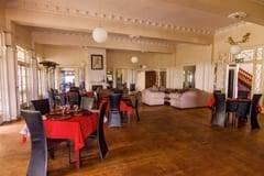 Inside Restaurant at Blue Ocean Dive Resort, Sardine Run Accommodation
