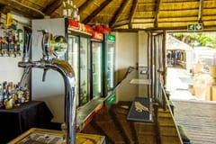 Bar Area at Blue Ocean Dive Resort, Sardine Run Accommodation