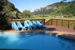 Pool at Cremorne Estate, Sardine Run Accommodation